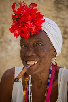Smoking in Havana