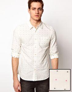 ASOS – Hemd mit Punktmuster
