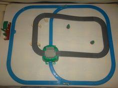 Tomy Trackmaster Thomas the Tank Engine Train Track Set Cranky Knapford Heliport | eBay