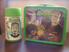 The awesome Universal Monsters Lunch Box-who'd thought a lunch box would ever beome a collectible!