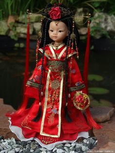Asian Doll, Bjd, Doll Clothes, Harajuku, Couture, Dolls, Outfits, Beauty, Oriental