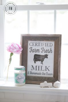 Farmhouse-Free-Summer-Printable plus I think I can make this frame!