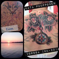 https://www.facebook.com/VorssaInk, http://tattoosbykata.blogspot.fi, #tattoo #tatuointi #katapuupponen #vorssaink #forssa #finland #traditionaltattoo #suomi #oldschool #pinup