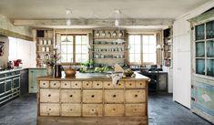What an island! Joris Van Apers Belgian country house in Veranda March/April 2015