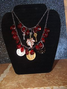my new steampunk jewelry! check out Cridega Creatins on etsy!