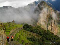 Hikers in Machu Picchu, Peru