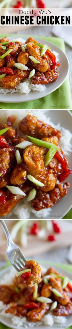 Daddy Wu's Chinese Chicken - Skip the take out – this Chinese chicken recipe is a little bit sweet and a lot of delicious!