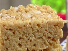 Salted Caramel Crispy Treats recipe from Jamie Deen