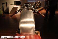 Zen Garage 1961 Honda CB77 Superhawk Len Higa motorcycle cafe racer Japanese American National Museum
