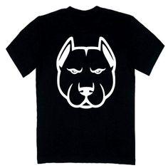 T-shirt męski - pitbull z FamilyInBlack.pl