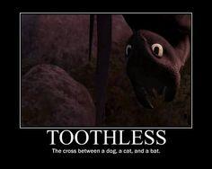 <3 Awwwww!!!!!! I love Toothless!!!!! ♡