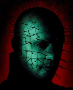 Hellraiser......traumatized by pinhead and that morphing cube at the age of nine, shame on you mom! LOL, iv thankfully recovered so it's ok
