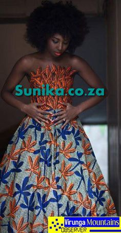 Shweshwe Wedding dress