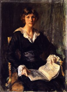 Miss Savageau (1915). William Merritt Chase (American, 1849-1916). Oil on canvas. Denver Art Museum. Gertrude Savageau Freeman, a student of Chase.