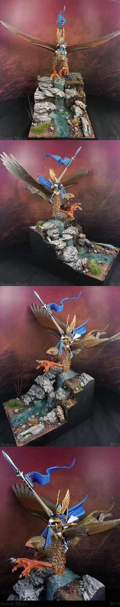 High Elf Prince on Griffon (Diorama Version) Not interested in diorama just the claws