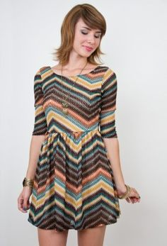 Blaze A Trail Dress at Nectar Clothing