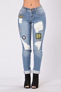 Road Less Traveled Boyfriend Jeans - Medium Wash