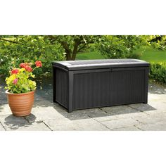 Find Keter Borneo Rattan Effect Garden Storage Box - 400L at Homebase. Visit your local store for the widest range of garden products.