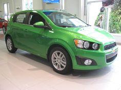 2014 Chevy Sonic LT Turbo . . .Dragon Green Metallic . . .Tom Clark Chevrolet 412-751-2900