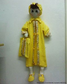 Кукла - органайзер для ванной + выкройка