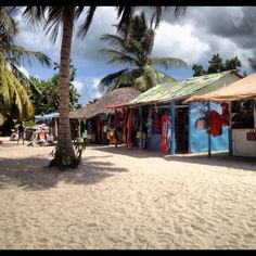 Saona Island Shops
