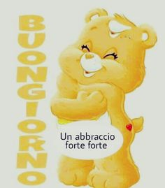 Good Morning Kisses, Italian Memes, Good Night, Winnie The Pooh, Disney Characters, Fictional Characters, Pasta, Frases, Cards