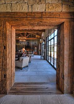 Llano Ranch, Austin. Cornerstone Architects.