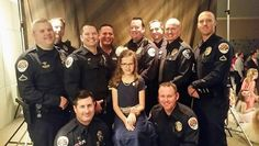 When the school of a daughter of fallen Chandler police Officer Bryant Holmes was having a father-daughter dance, Chandler and Gilbert officers made sure the young girl had a memorable time.