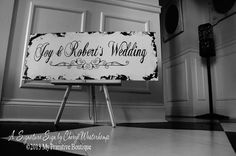 CUSTOM NAME SIGN Wedding Heirlooms by MyPrimitiveBoutique on Etsy, $69.00