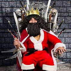 Rule SantaCon as a Throne of Swords Santa! Christmas is coming… so procure ye Santa Suit, bushy beard, royal locks and king's crown.