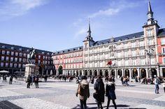 Roteiro de 3 dias por Madrid - Espanha - Blog Serotonina - Plaza Maior