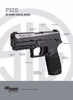 Sig Sauer P320 SP Carry Pistol
