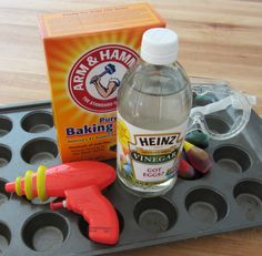 Science Experiment For Kids - squirt gun science