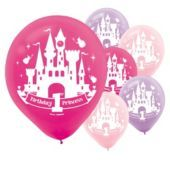 Latex Disney Princess 1st Birthday Balloons