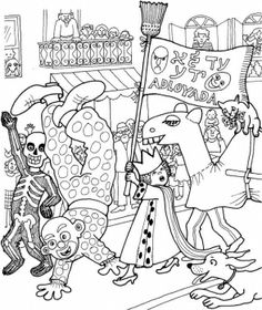 parade purim coloring pages purim