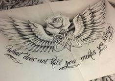 Chest Piece Tattoo Mens, Small Chest Tattoos, Chest Tattoos For Women, Simple Tribal Tattoos, Simple Tattoos For Guys, Neck Tattoo For Guys, Alas Tattoo, Mädchen Tattoo, Tattoo Quotes
