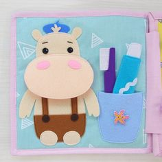 Quiet Page Book Child Felt Quiet Book for Toddler Educational or Sensory Soft Toy Baby Shower Gift Activity Book Montessori Diy Quiet Books, Baby Quiet Book, Felt Quiet Books, Crafts For Boys, Toddler Crafts, Gifts For Kids, Toddler Books, Childrens Books, Sensory Book