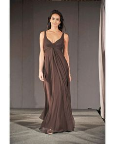 Fresh A fall bridesmaid dress from Watters and Wtoo Long Bridesmaid DressesWedding