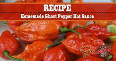 Hot Pepper Recipes, Hot Sauce Recipes, Habanero Recipes, Chilli Recipes, Wing Recipes, Ghost Pepper Sauce, Ghost Peppers, Ghost Pepper Jelly Recipe, Chili Sauce