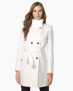 Juicy Couture Supreme Tricotine Trench