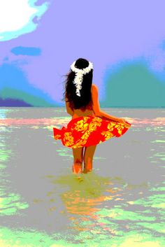 Impressions of Hawaiian Beauty - ©Tomas Del Amo (via ArtistRising)