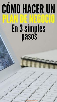 How to make a business plan in 3 simple steps. Making A Business Plan, Own Business Ideas, Creating A Business, Starting A Business, Bussines Ideas, Sales Tips, Start Ups, Community Manager, Business Branding