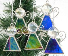 Stained+Glass+Angel++cobalt+blue+by+20ethCenturyGirl+on+Etsy,+£4.50