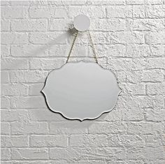 Shop Looking Glass Scrolled Mirror. Our Looking Glass Mirror is available in a variety of different shapes and styles, so you can find one that reflects your mood perfectly. Kids Mirrors, Round Mirrors, Periwinkle Room, Land Of Nod, Bathroom Kids, Baby Store, Kids Decor, Custom Furniture, Crate And Barrel