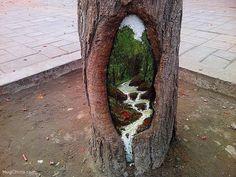forest animal street art - Buscar con Google