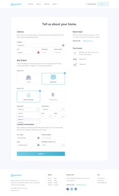 UI Garage - Specific mobile and web design patterns for your ins Form Design Web, Ui Ux Design, Interface Design, Page Design, User Interface, Ui Forms, Survey Design, Mobile Web Design, Ui Patterns