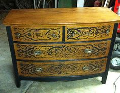 definite idea for the bedroom furniture makeover that is soon to come grannys old bedroom suit would look awesome like this