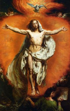 13 May – The Solemnity of the Ascension of the Lord We, the members of Christ's body, ascended to heaven with the Lord, through love…. a Sermon by St Father and Doctor of Grace , delivered on the Solemnity of the Ascension of our Lord Ascension Of Jesus, Crucifixion Of Jesus, Mary And Jesus, Jesus Is Lord, Catholic Art, Religious Art, Pictures Of Jesus Christ, Life Of Christ, Jesus Resurrection