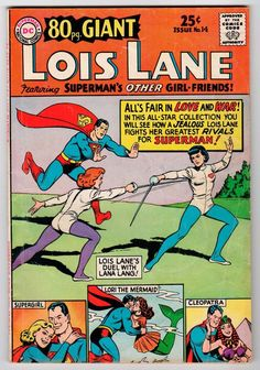 DC GIANT #14 LOIS LANE Vintage Comic