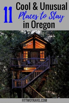 11 cool and unusual places to stay in oregon including teepee, vintage trailer resort, tiny home hot Oregon Vacation, Oregon Road Trip, Oregon Trail, Oregon Camping, Oregon Coast Roadtrip, Portland Oregon Lodging, Travel Portland, Hillsboro Oregon, Oregon Forest